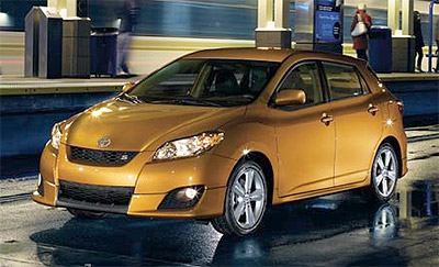 Toyota matrix XRS, new car, car portal