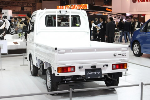 Honda Acty Truck Revealed in Tokyo - malaysia automotive, car accessories, car brand and car models, malaysia car racing, malaysia f1, malaysia car classified