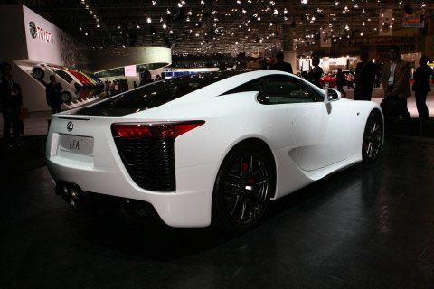 Lexus LF-A Caught Inside & Out Ahead of Tokyo Unveiling - malaysia automotive, car accessories, car brand and car models, malaysia car racing, malaysia f1, malaysia car classified
