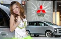 Thailand Car Show Show Girl 13
