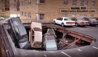 Car Park Landslide